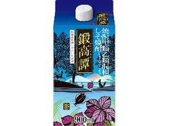 合同酒精 しそ焼酎 鍛高譚 パック900ml