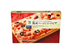 セブンプレミアム 熟成ベーコンミートピザ 箱210g