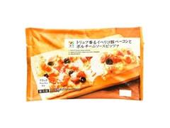 セブンプレミアム トリュフ香るイベリコ豚ベーコンとポルチーニソースピッツァ 袋230g