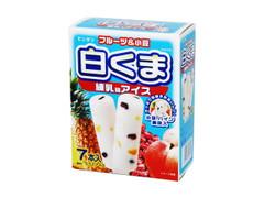 センタン 白くま 練乳味アイス 箱55ml×7
