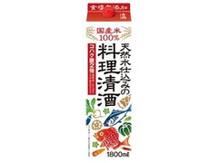 福徳長 天然水仕込みの料理清酒 パック1800ml