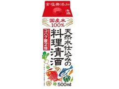 福徳長 天然水仕込みの料理清酒 パック500ml