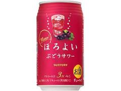 サントリー チューハイ ほろよい ぶどうサワー 缶350ml