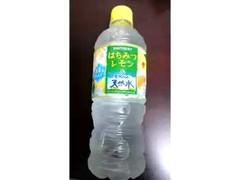 サントリー 南アルプスの天然水 はちみつレモン&南アルプスの天然水 ペット540ml