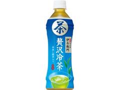 サントリー 緑茶 伊右衛門 贅沢冷茶 ペット500ml
