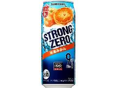 サントリー ‐196℃ ストロングゼロ 冷凍みかん 缶500ml