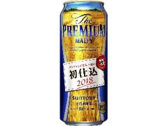 サントリー ザ・プレミアム・モルツ 初仕込 缶500ml