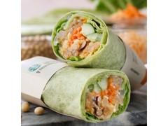 スターバックス サラダラップ 春野菜&スイートチリ