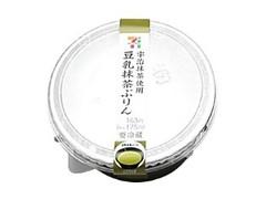 セブン-イレブン 宇治抹茶使用豆乳抹茶ぷりん
