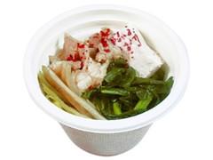 セブン-イレブン 博多もつ鍋仕立ての濃厚みそスープ
