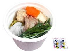 セブン-イレブン 博多水炊き仕立ての鶏三昧スープ