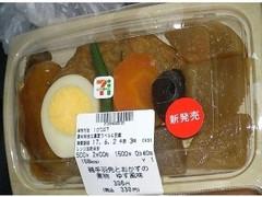 セブン-イレブン 鶏手羽先とおかずの煮物 ゆず風味1食
