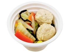 セブン-イレブン 肉の旨みがギュッ!鶏団子のスープ