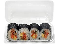 セブン-イレブン 野菜たっぷり!旨辛ナムル巻 4巻