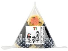 セブン-イレブン 直巻おむすび 高菜混ぜ飯と明太子