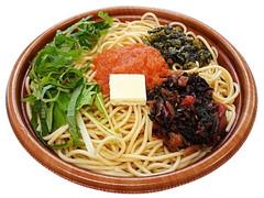 セブン-イレブン 安藝紫と広島菜漬の明太子パスタ