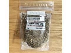 無印良品 季節のお茶 生姜入りほうじ茶 袋25g