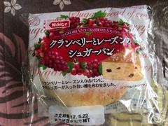 日糧 クランベリーとレーズンのシュガーパン 袋1個