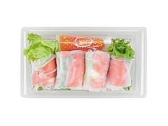 ナチュラルローソン 生春巻き スモークサーモン&チーズ
