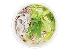 ナチュラルローソン 豚しゃぶとレタスの白湯スープ