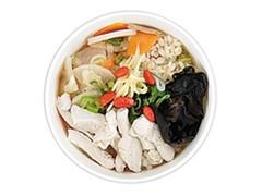 ナチュラルローソン もち麦入り鶏肉たっぷり参鶏湯風スープ