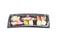 ナチュラルローソン カットフルーツ 長野県産3種のりんご