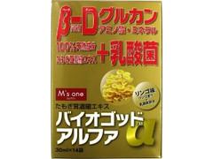 ツルハホールディングス M's one バイオゴッドα 箱30ml×14