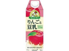 キッコーマン りんごと豆乳 パック750ml