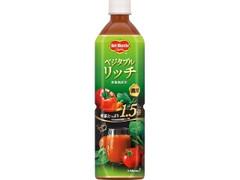 デルモンテ ベジタブルリッチ 野菜飲料 ペット900g