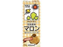 キッコーマン 豆乳飲料 マロン パック200ml