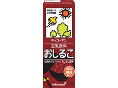 キッコーマン 豆乳飲料 おしるこ パック200ml