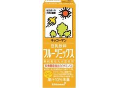 キッコーマン 豆乳飲料 フルーツミックス パック200ml