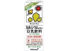 キッコーマン 豆乳飲料 カルシウムの多い豆乳飲料 パック200ml