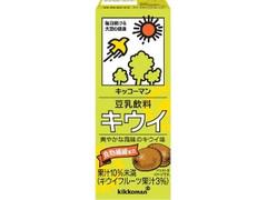 キッコーマン 豆乳飲料 キウイ パック200ml