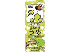 キッコーマン 豆乳飲料 うめ パック200ml