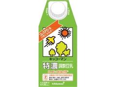 キッコーマン 特濃調製豆乳 パック500ml