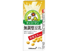 キッコーマン 焙煎大豆 無調整豆乳 パック200ml