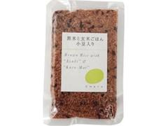 チャヤ マクロビオティックス 黒米と玄米ごはん 小豆入り 袋160g