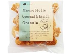 チャヤ マクロビオティックス 米粉のココナッツ&レモングラノーラ 袋90g