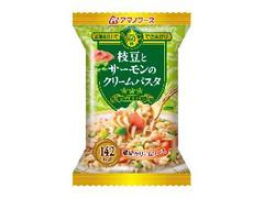 アマノフーズ 三ツ星キッチン 枝豆とサーモンのクリームパスタ 袋29g