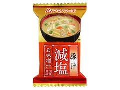 アマノフーズ 減塩お味噌汁 豚汁 袋12.5g