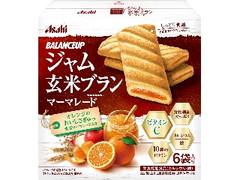 アサヒ バランスアップ ジャム玄米ブラン マーマレード 箱6袋