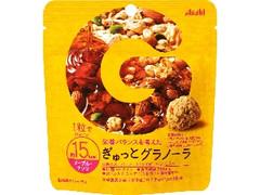アサヒ ぎゅっとグラノーラ メープル・ナッツ 袋24g