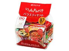 アマノフーズ いつものおみそ汁 バラエティセット 袋89.5g