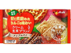 アサヒ バランスアップ クリーム玄米ブラン アップルパイ 袋2枚×2
