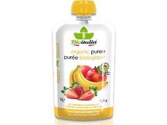Bioitalia とろりーのイタリアンスムージー リンゴイチゴバナナ 袋120g