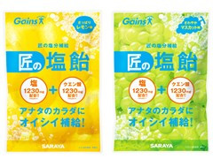 『匠の塩飴』レモン&マスカットの2種8点セット!
