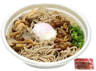 新発売のコンビニ麺:セブン「秋の味わい!きのこと玉子の温かいお蕎麦」ほか