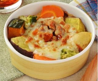新発売のコンビニ惣菜:ローソン「野菜とペンネのオーブン焼き」ほか