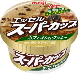 """最新发布的便利店糖果:明治""""Essel超级杯咖啡馆au lait&cookies""""其他"""